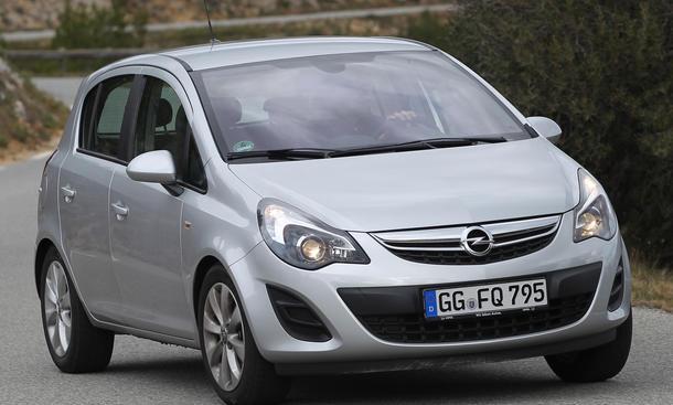 Bilder Opel Corsa 1.4 16V 2013 Kleinwagen Test