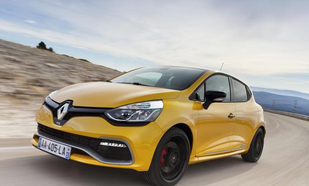 Bilder Renault Clio R.S. 2013 Kleinwagen Sportler