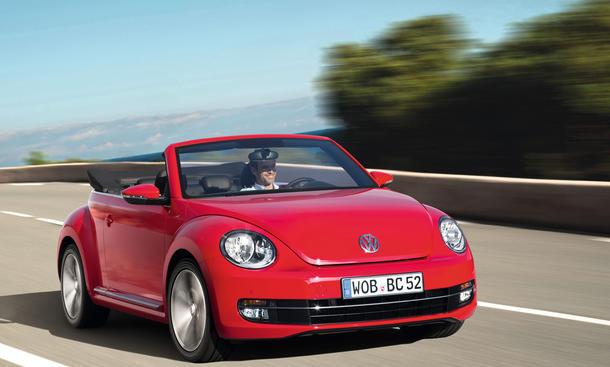 Bilder VW Beetle Cabrio 1.6 TDI 2013 Kompaktwagen Fahrbericht