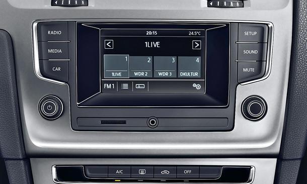 VW Golf VII - Die Multimedia-Ausstattung