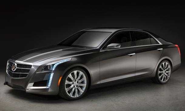 Cadillac CTS 2013 New York Auto Show NYIAS Oberklasse-Limousine Front