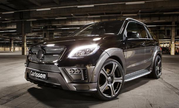 Carlsson CML Royale-Revox Autosalon Genf 2013 Mercedes ML 63 AMG Konzertsaal auf Rädern