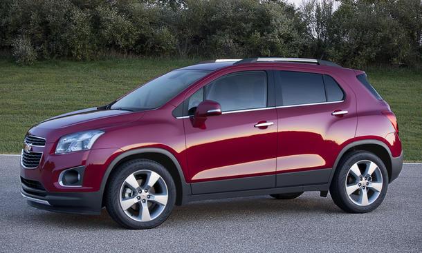 Chevrolet Trax 2013 Preis SUV Neuheiten