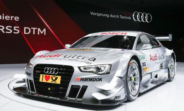 DTM 2013 Audi RS 5 Autosalon Genf Motorsport