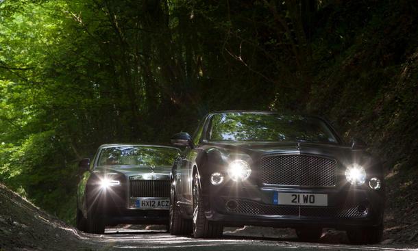 Faszination Luxus-Limousine Bentley Mulsanne Rolls-Royce Ghost EWB