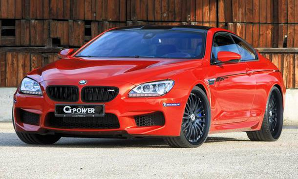 BMW M6 G-Power Tuning Biturbo-V8 Keramik-Bremse
