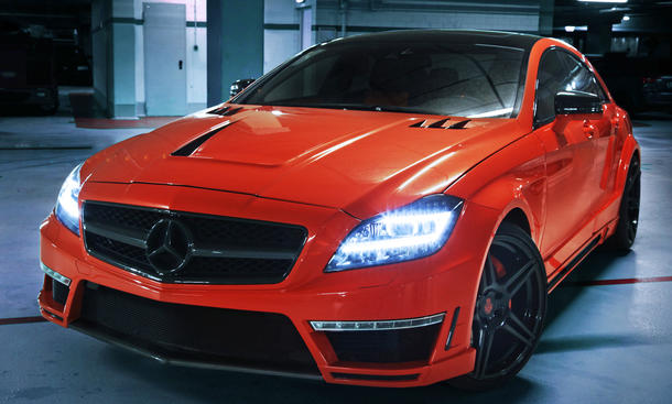 GSC German Special Customs Mercedes CLS 63 AMG Stealth Tuning