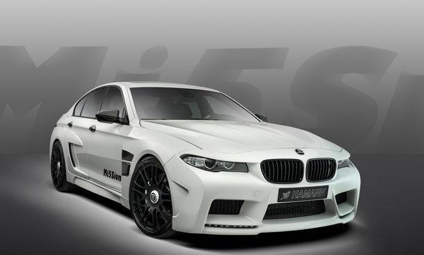 Hamann Mi5sion Mission BMW M5 F10 Genfer Autosalon 2013 Tuning Grimmig