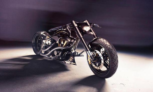 Hamann Soltador Tuning-Bike Motorrad Genfer Autosalon 2013 Harley-Motor