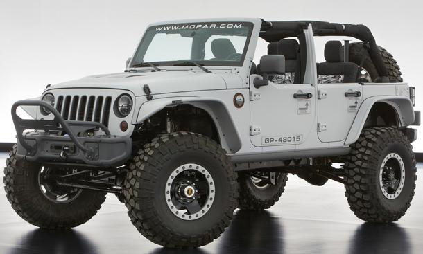 Jeep Studie Moab Easter Jeep Safari 2013 Wrangler Mopar Recon