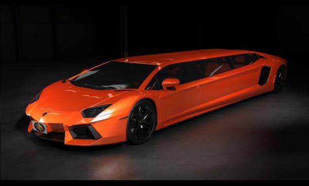 Lamborghini Aventador Stretch-Limousine CarsForStars Studie
