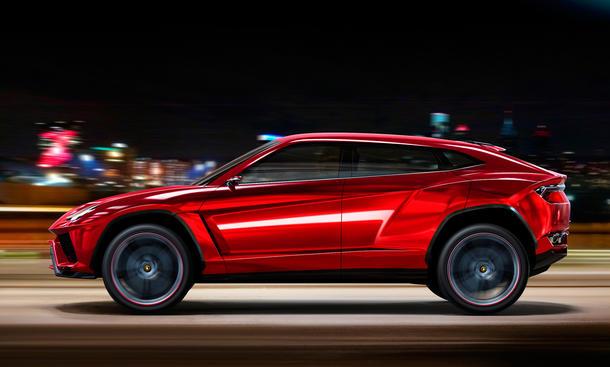Lamborghini Urus 2016 Produktion Power SUV V12