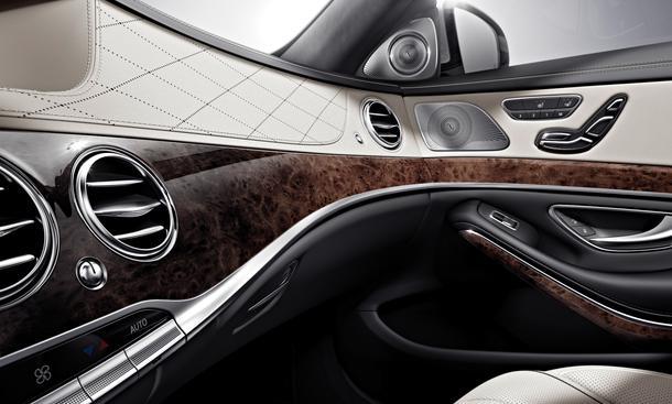 Mercedes S-Klasse 2013 W222 Interieur Innenraum Sitze