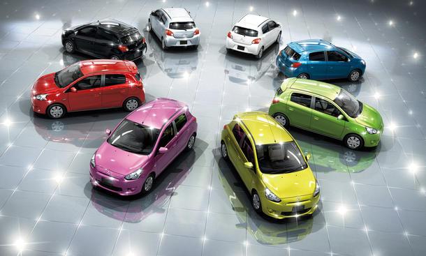 Mitsubishi Space Star 2013 Preis neue Generation Kleinwagen Markteinführung