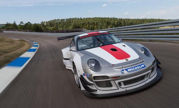 Porsche 911 GT3 R Rennwagen Update 2013 997 Motorsport Rennversion