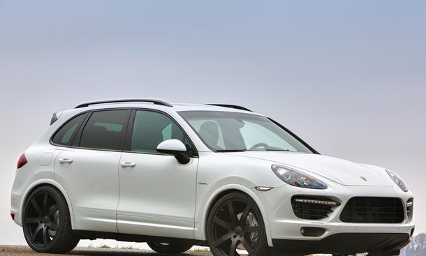 Sportec Porsche Cayenne Diesel S SP420 Tuning Leistungssteigerung