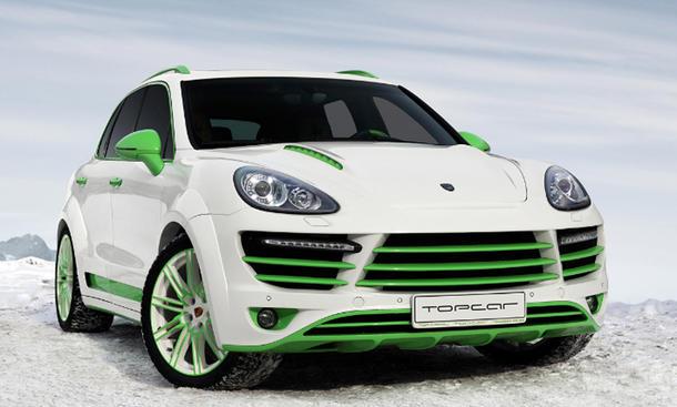 Topcar Porsche Cayenne Green Horse Tuning