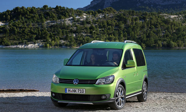 VW Cross Caddy 2013 Preis