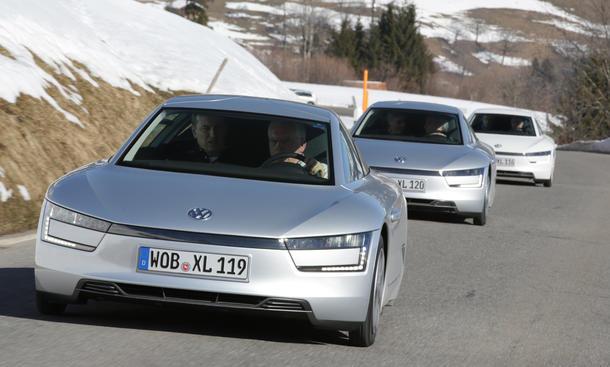 VW XL1 2013 Diesel-Hybrid Fahrbericht Carbon Ein-Liter-Auto