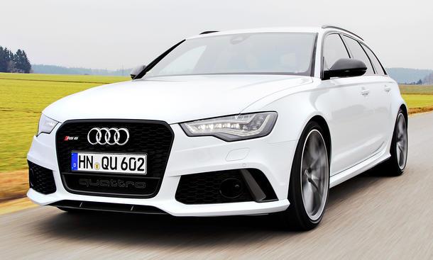 Audi RS 6 Avant 2013 Sport-Kombi Fahrbericht Bilder V8-Biturbo