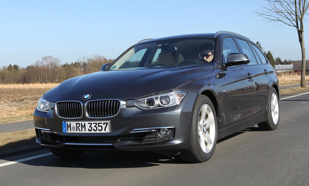 BMW 320i Touring 3er Kombi Test
