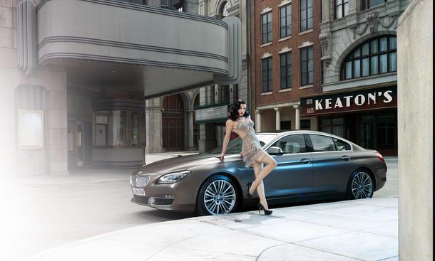 BMW Burlesque Kalender 2014 6er Gran Coupe Erotik
