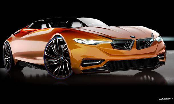 BMW MZ8 Supersportler Design-Entwurf Z8 2013