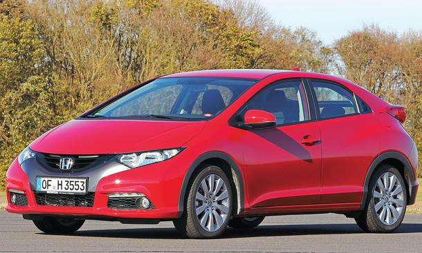 Bilder Honda Civic Kaufberatung 2013 Kompaktklasse