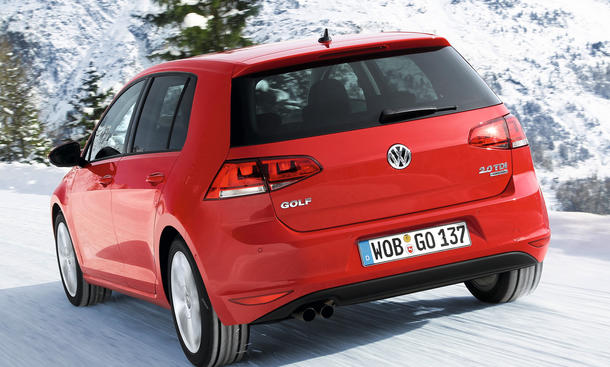 vw golf vii 2 0 tdi 4motion 2013 im test bilder. Black Bedroom Furniture Sets. Home Design Ideas