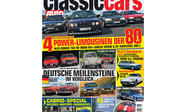 Classic Cars Heft 05/2013 001 Cover