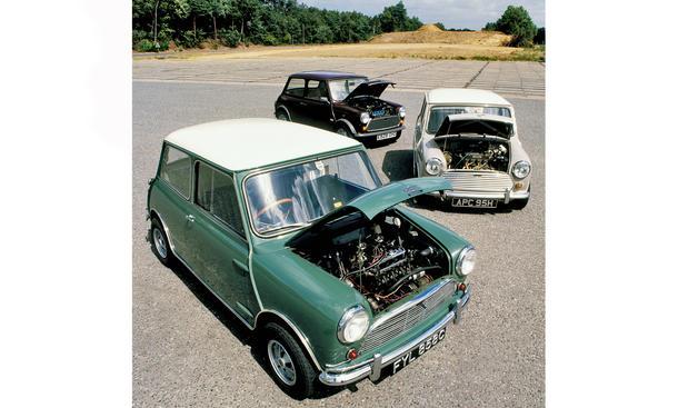 Classic Cars 50 Jahre Mini Cooper S Jubiläum