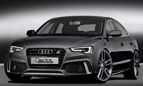 caractere audi a5 coup 2012 tuning f r das facelift. Black Bedroom Furniture Sets. Home Design Ideas