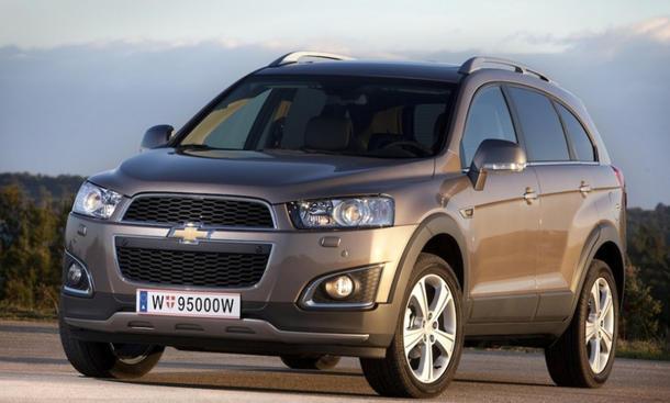 Chevrolet Captiva 2013 Facelift Preis Kompakt-SUV