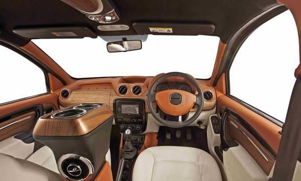 Dacia duster 2013 tuning von dc design mit luxus for Interieur tuning