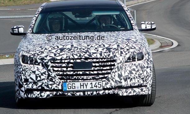 Hyundai Genesis 2014 Erlkönig Bilder Oberklasse-Limousine
