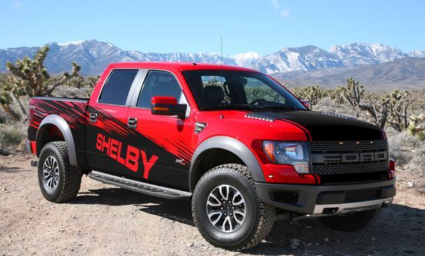 Shelby Ford F150 SVT Raptor Tuning Pick-Up Leistungssteigerung V8
