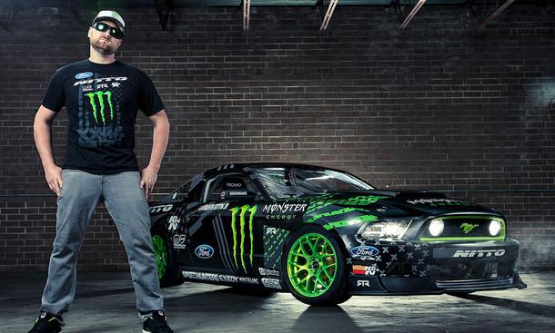 Ford Mustang RTR Vaughn Gittin Jr Video Monster 2013