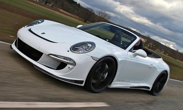 Gemballa Porsche 911 Cabrio 991 Carrera S Tuning Bodykit Aerodynamik