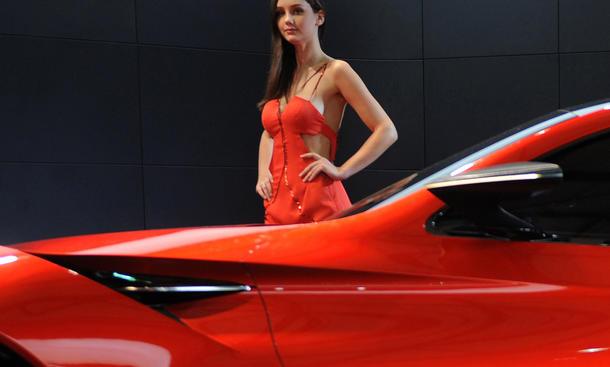 Girls Shanghai Motor Show 2013 Hostessen China