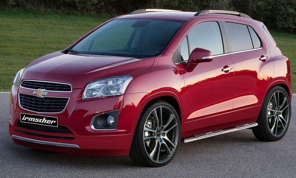 Chevrolet Trax Tuning Irmscher Veredelung Tieferlegung