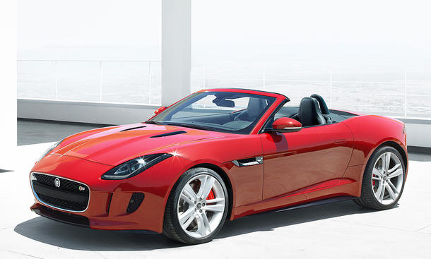 jaguar f type roadster 2013 preis f r den offenen sportler bild 4. Black Bedroom Furniture Sets. Home Design Ideas