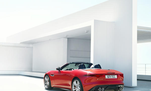 jaguar f type roadster 2013 preis f r den offenen sportler bild 2. Black Bedroom Furniture Sets. Home Design Ideas