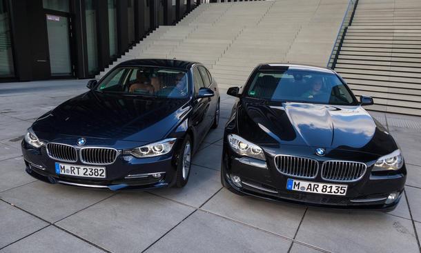Konzeptvergleich BMW 3er oder 5er 320d gegen 520d