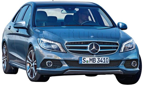 Neuheiten Mittelklasse Limousinen Mercedes C-Klasse