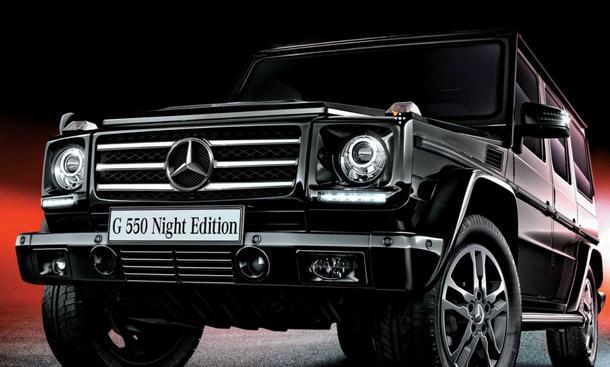Mercedes G 550 Night Edition Sondermodell G-Klasse Japan Geländewagen