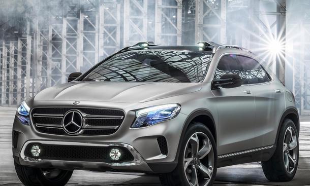 Mercedes GLA 2013 Shanghai Motor Show Kompakt-SUV A-Klasse Concept-Studie