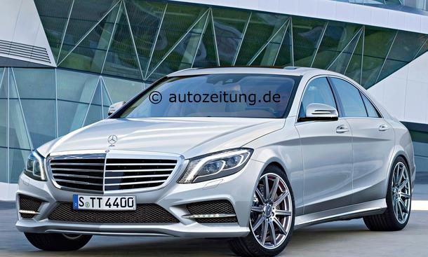 Mercedes S-Klasse 2013 W222 Interieur Innenraum Vorstellung