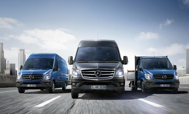 Facelift: Mercedes Sprinter 2013