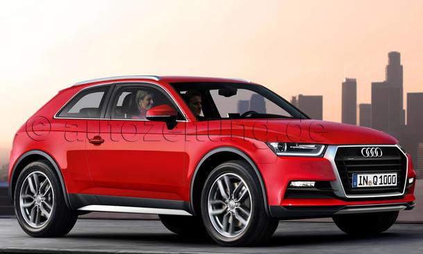Audi Q Zukunft Q1 Q2 Q4 Q6 Q8 SUV Modelle Neuheiten Coupé