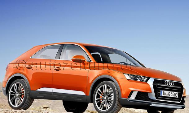 Audi Neuheiten neue Modelle Ausblick Q6